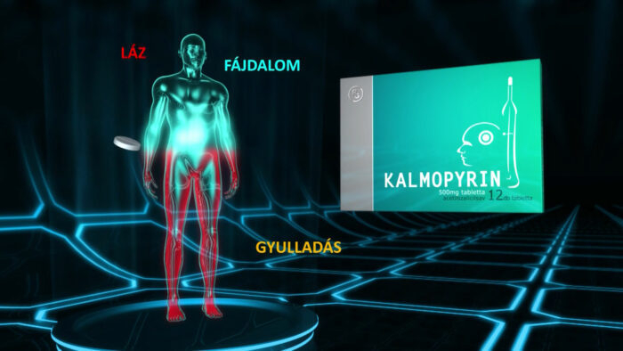 TV commercial with animation for Kalmpírin