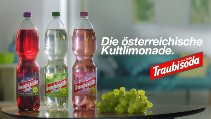 Traubisoda TV commercial in Hungary