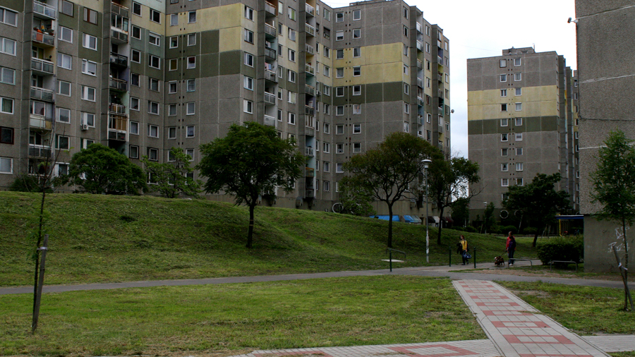 Apartment complexes for filming in Budapest