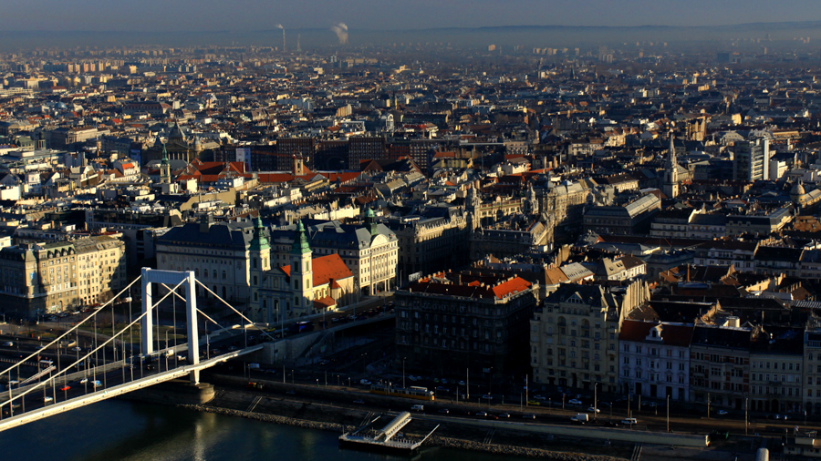 Video production in Budapest with the Danube