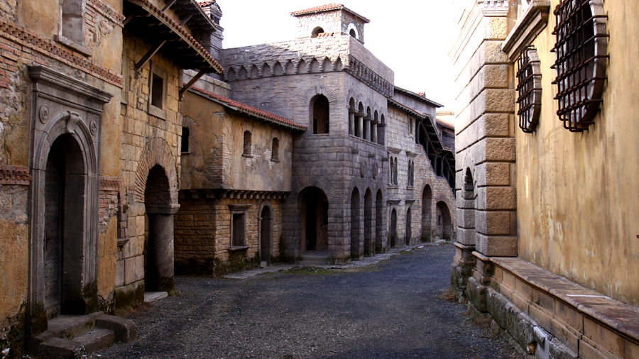 Medieval locations for film production in Hungary