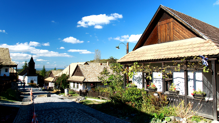 Villages for TV films in Hungary