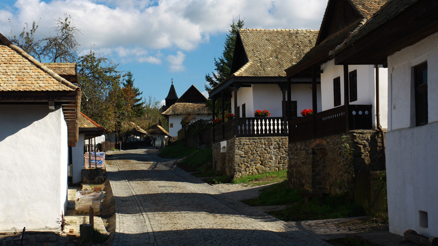 Traditional villages for film making in Hungary