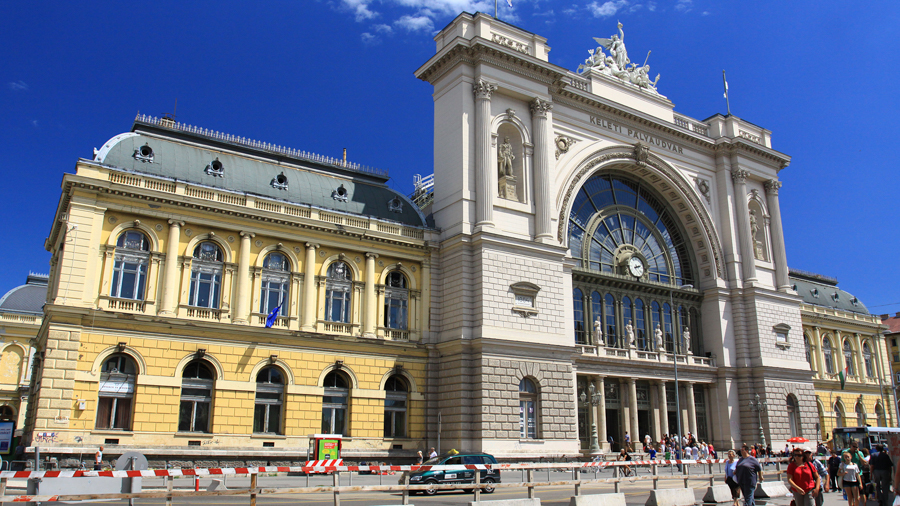 Railway stations for short films in Budapest