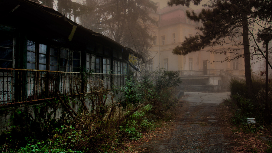Misty locations for film making in Hungary