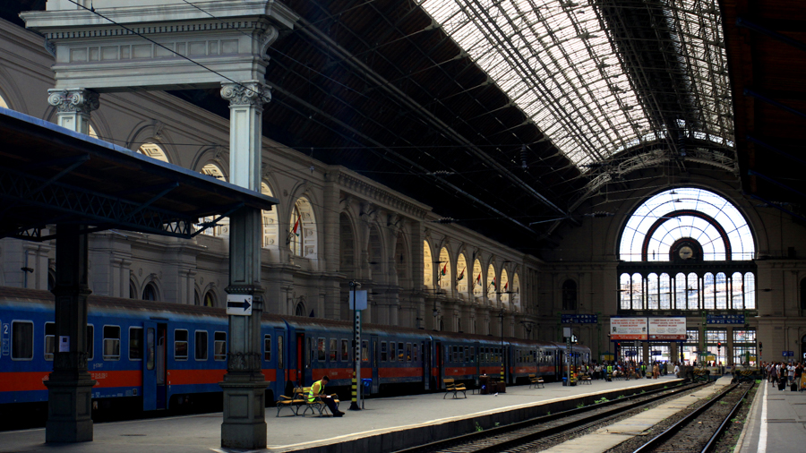 Railway stations for filming in Budapest
