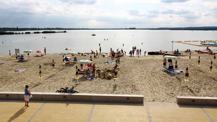 Beach locations for feature films in Hungary