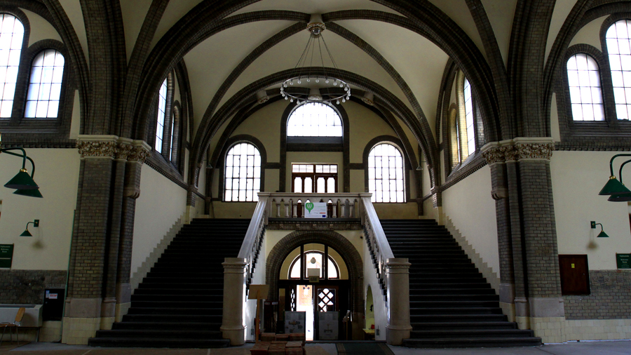 Staircases for short films in Budapest