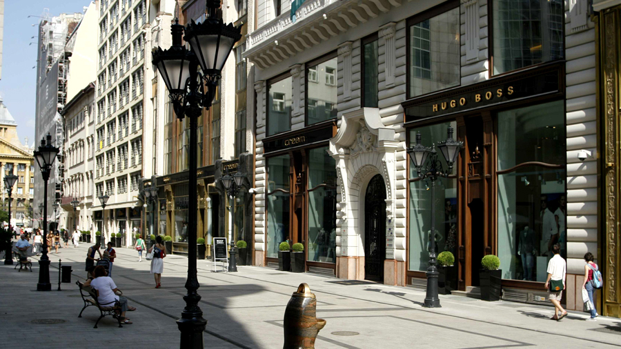 High-end stores for filming in Budapest