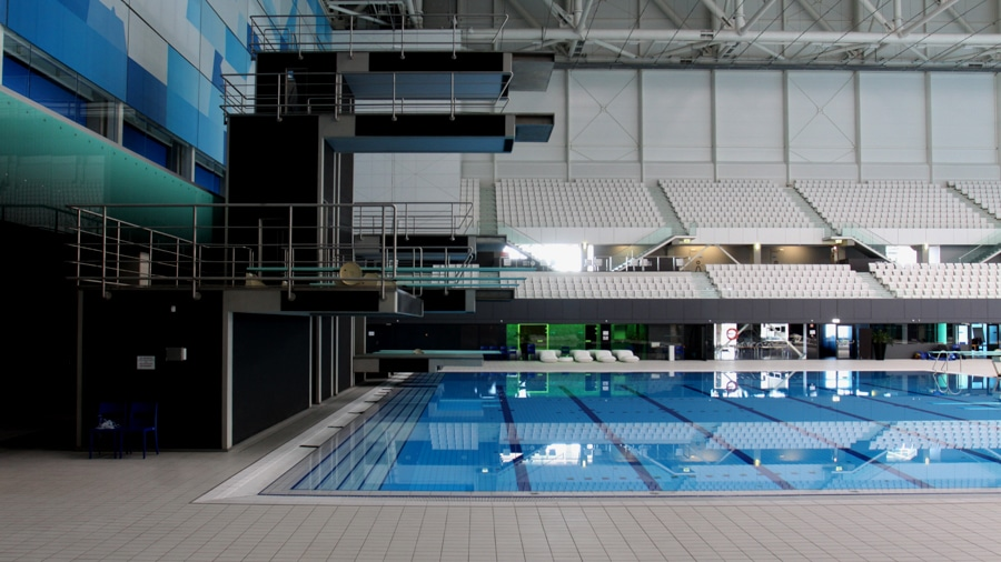 Swimming pool for commercial production in Budapest