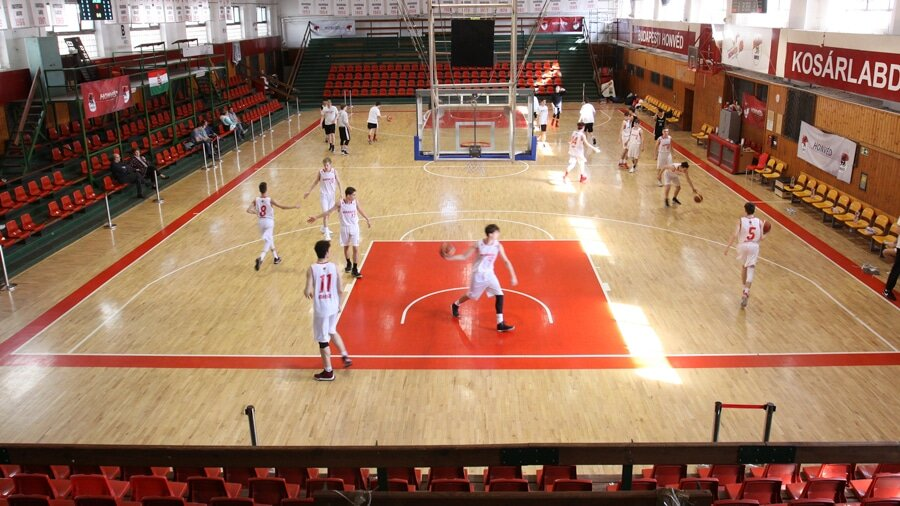Sport hall for TV films in Hungary